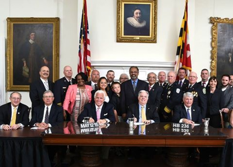 House Bill 236 signed by Governor Hogan