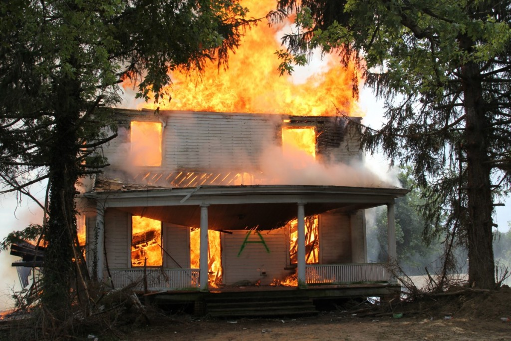 Live Fire Training and Controlled Burn 9.13.15