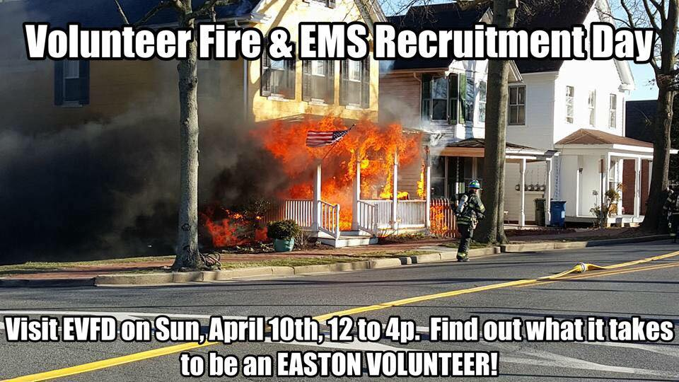 Easton Volunteers Host Recruitment Open House