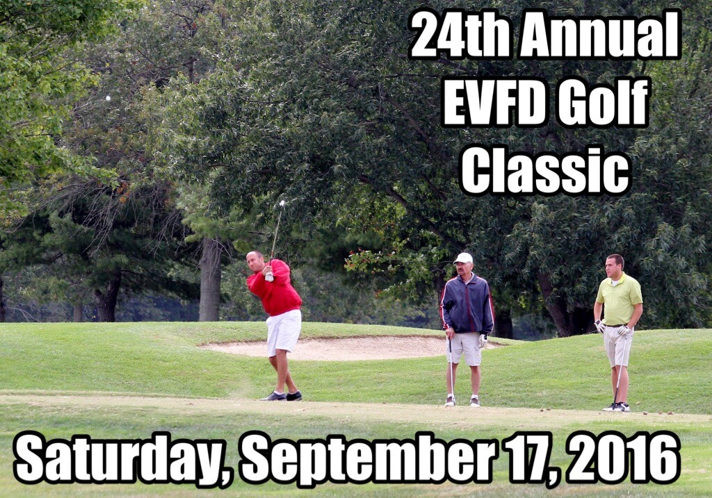 EVFD Announces 24th Annual Golf Classic