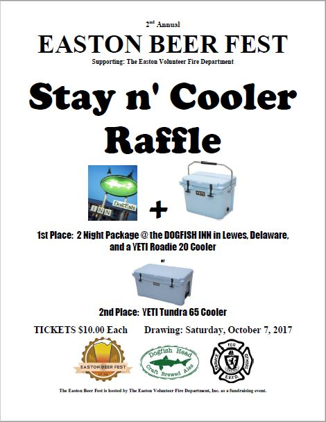 STAY n' COOLER RAFFLE