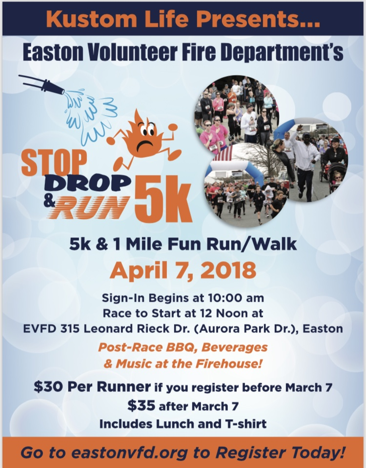 4th Annual Stop, Drop & Run 5K