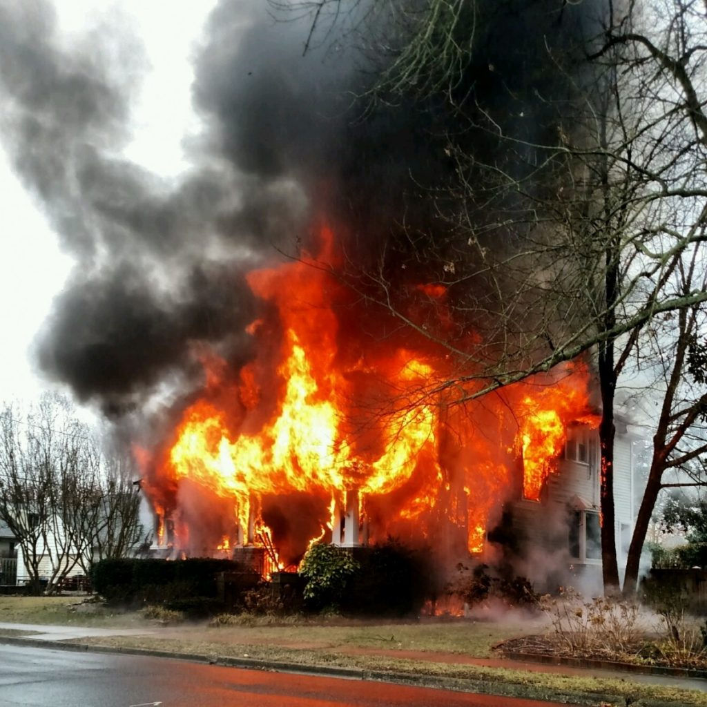 Earle Avenue House Fire